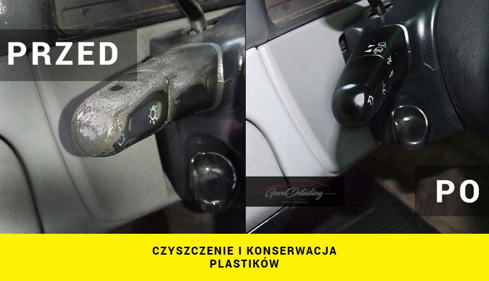 Czyszczenie wnętrza samochodu Mercedes